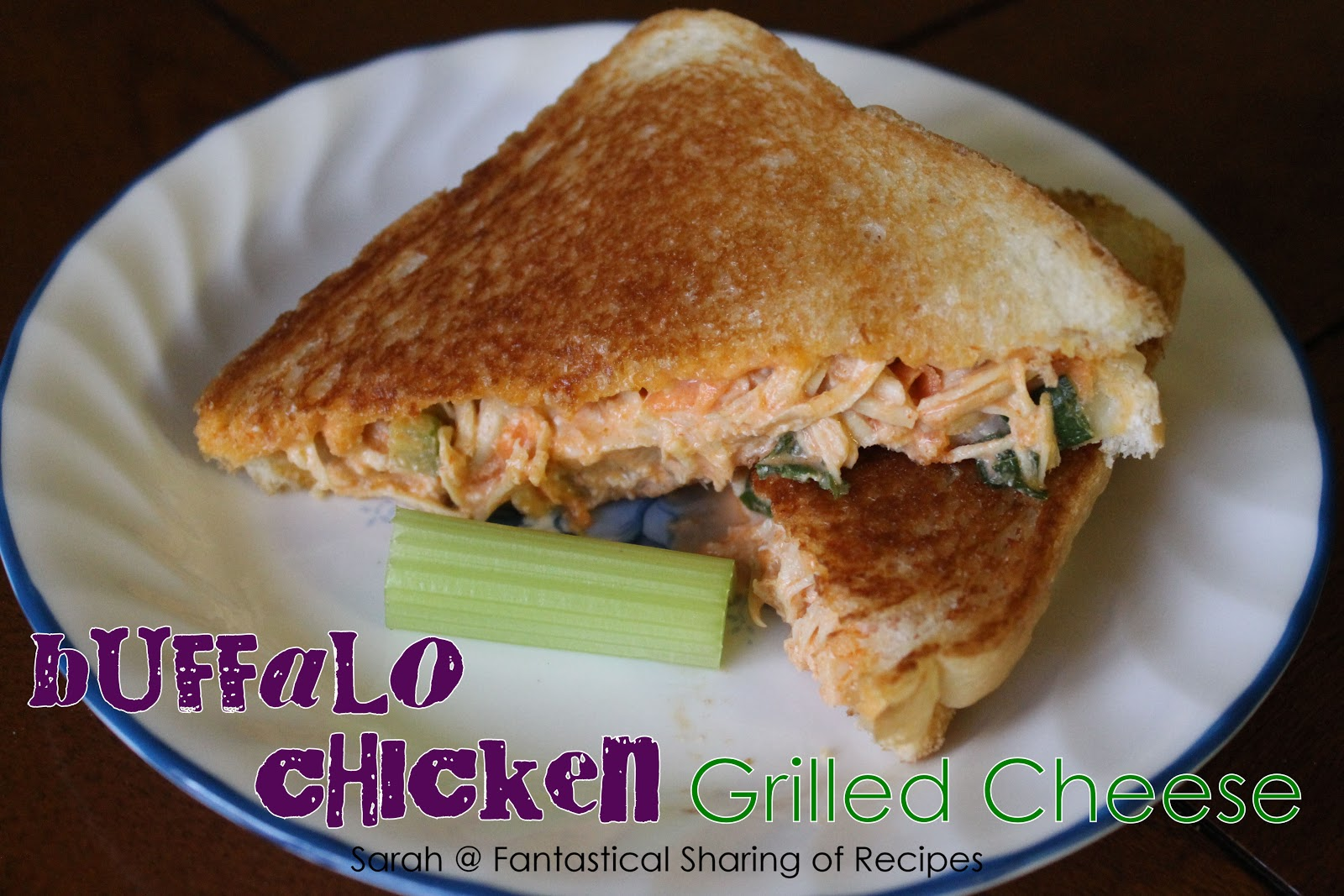 ... Sharing of Recipes: CCC: Buffalo Chicken Grilled Cheese Sandwich