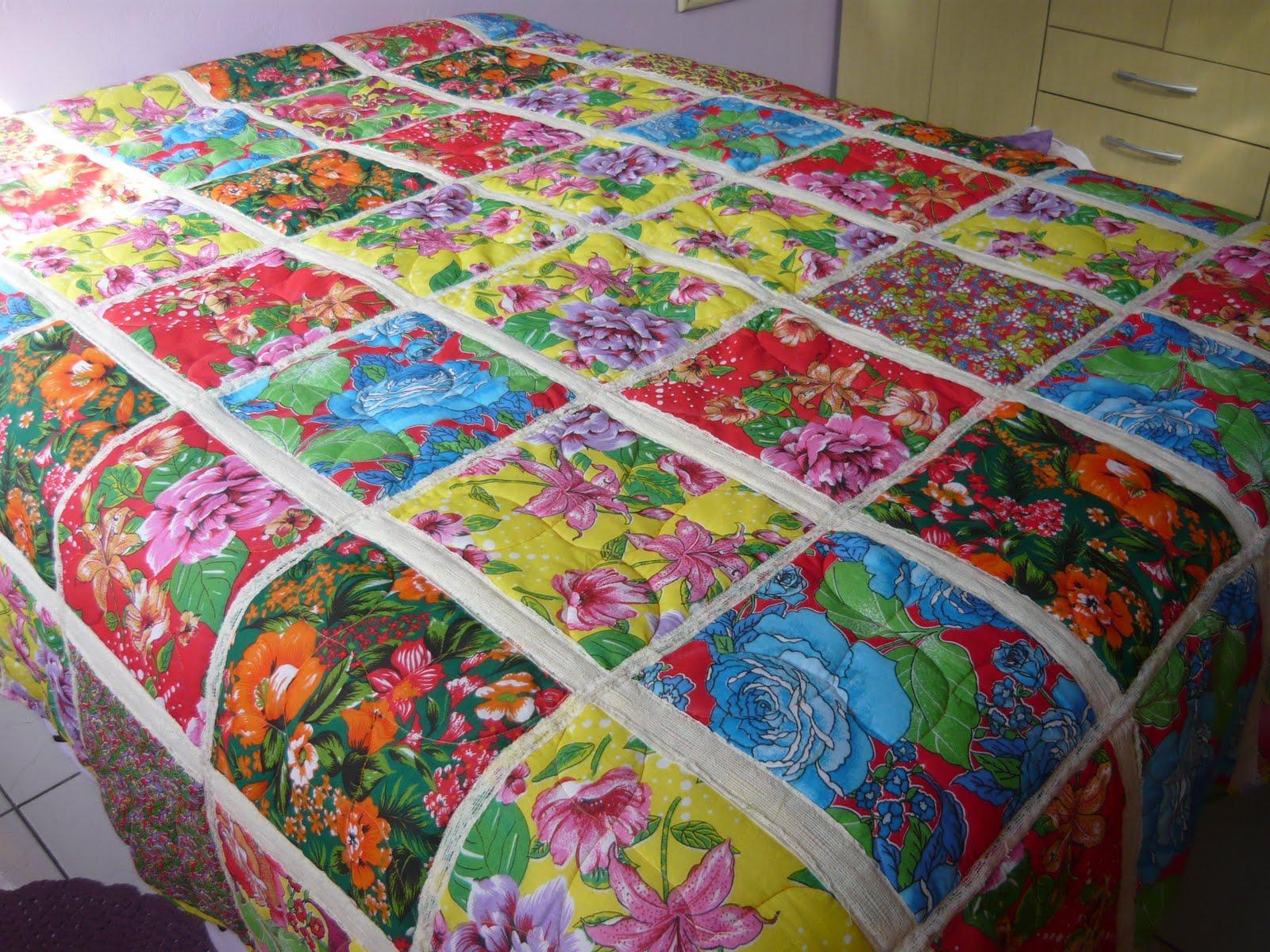 Nani arteira colchas em patchwork for Fotos de patchwork