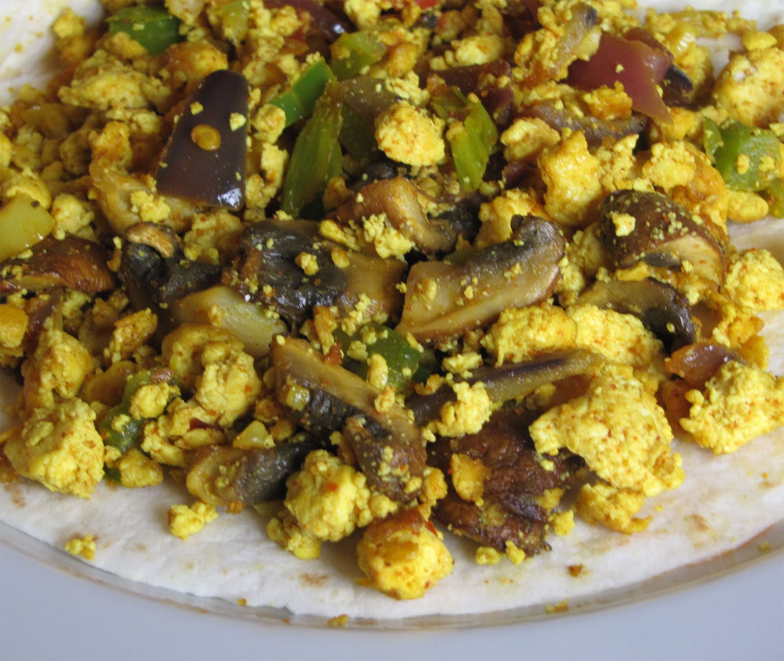 how to make tofu scramble with soft tofu