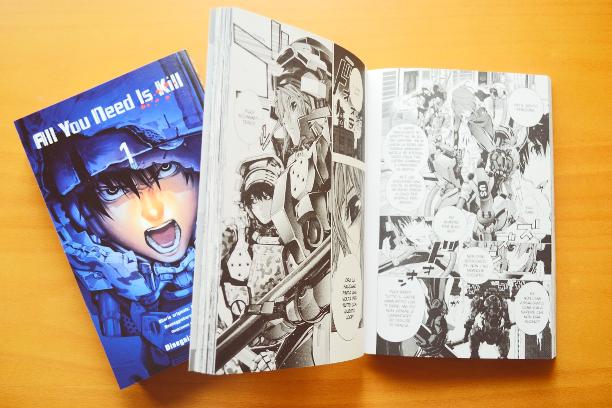comics, manga, fumetti, All you need is kill, edge of tomorrow, recensione, mimics, rita vrataski, keiji kiriya, loop temporale, loop, Takeshi Obata, fantascienza, fantascienza militare
