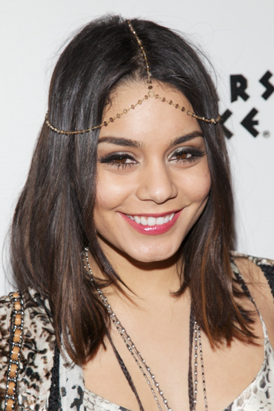 Vanessa Hudgens Medium Hairstyles