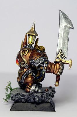 Termo-guerrero de los enanos de Tir-Na-Bor