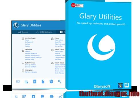 Download Glary Utilities Pro v5.26.0.45 Full Key – Phần mềm tối ưu hóa máy tính