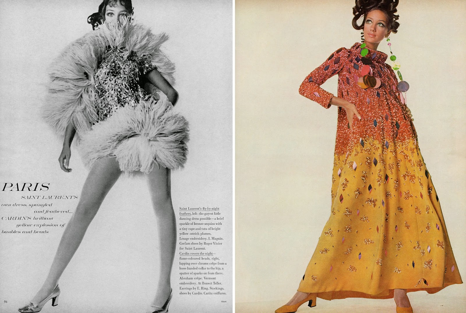 Vintage von werth blog haute couture a w 1967 68 by for Couture vs haute couture