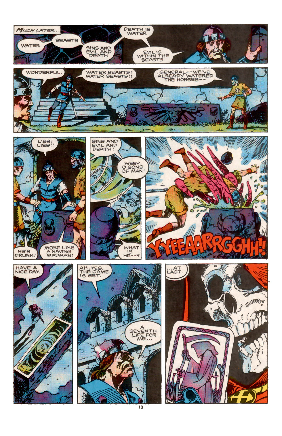 Conan the Barbarian (1970) Issue #202 #214 - English 14