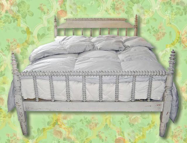 CRAIGSLIST: Dreamy Jenny Lind Spindle Bed by Restoration ...