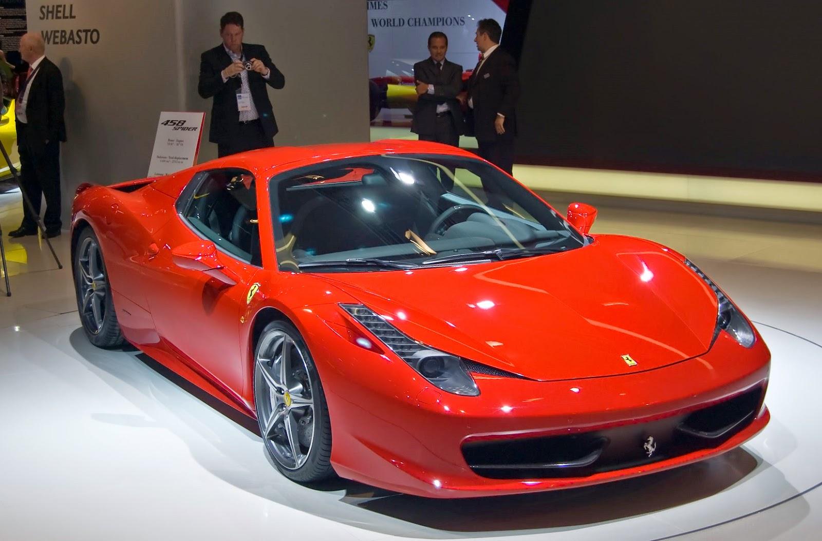 daftar harga mobil ferrari terbaru