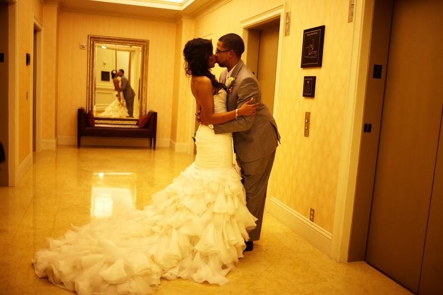 Wedding Inspiration- Cierra and Jerome in Houston, USA ~ Wedding Bells