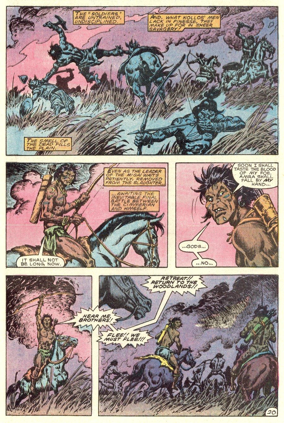 Conan the Barbarian (1970) Issue #182 #194 - English 21