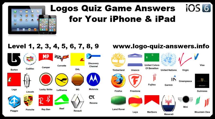Famous Logo Quiz Answers