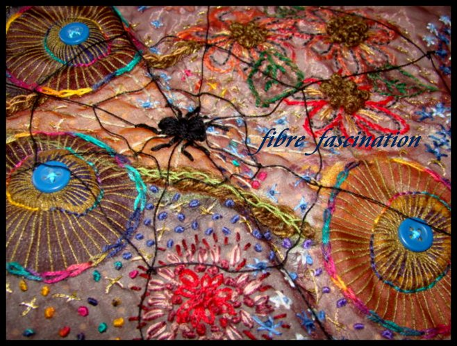 Fibre Fascination Creative Embroidery A Playgound Of Stitch And Colour