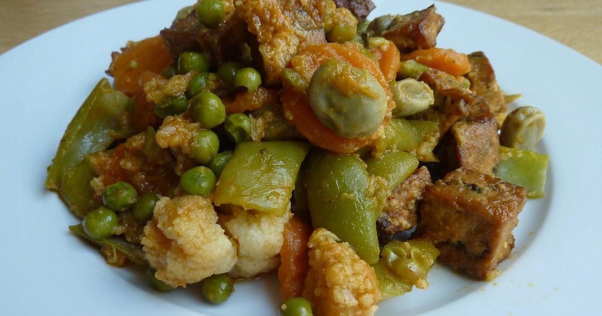 Charo y su cocina menestra de verduras con tofu fc - Como preparar menestra de verduras ...