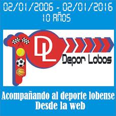 Depor Lobos - 10 años
