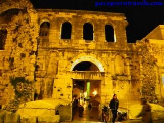 Visita al Palacio Diocleciano en Split Croacia