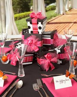 Creative Wedding Shower Centerpieces