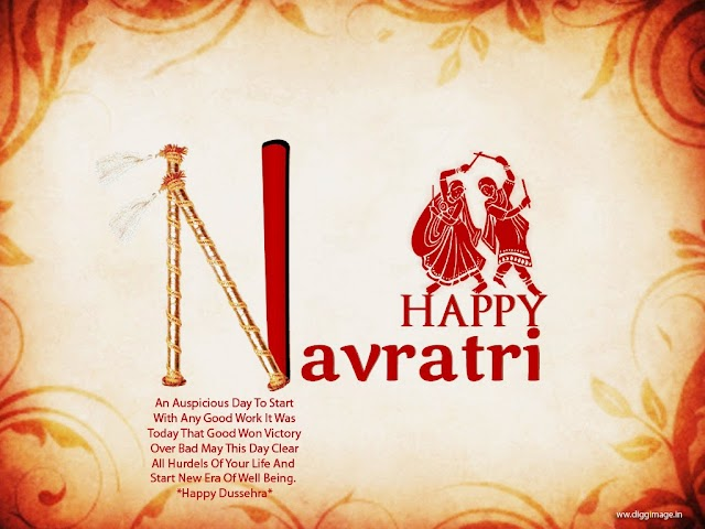 May you and your family be blessed with everything beautiful this Navratri.