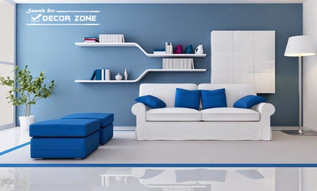 Wall Paint Colors. Popular Paint Colors For One Wall In Living Room   Royal  Blue