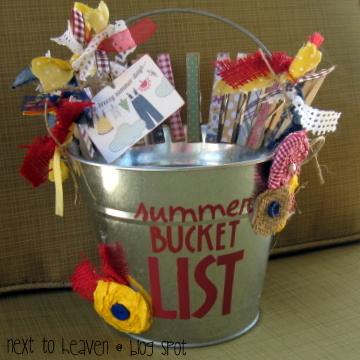 Next To Heaven Summer Bucket List