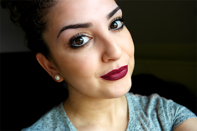 full face diva mac lipstick