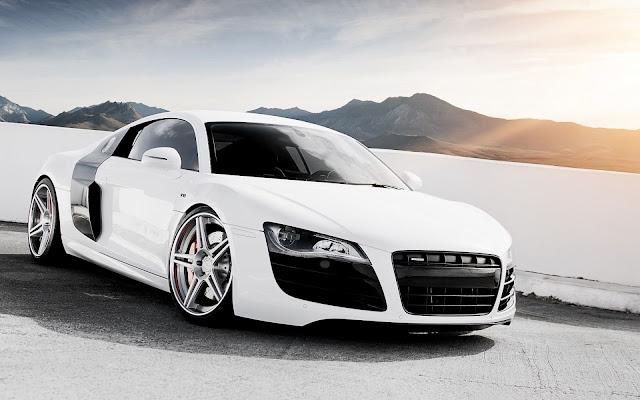 Audi R8 ADV White