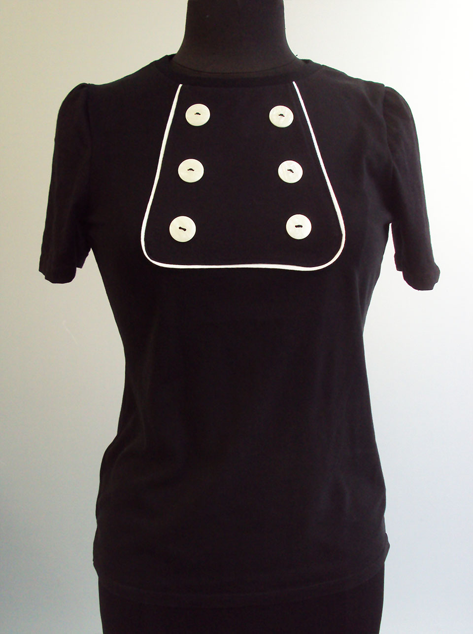 ... from unwanted men's T-shirts to make a super-wearable adult version.