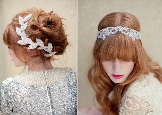 Luxury Accessories for the bride's hair