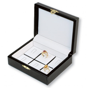 Deluxe Ring Jewelry Display Case