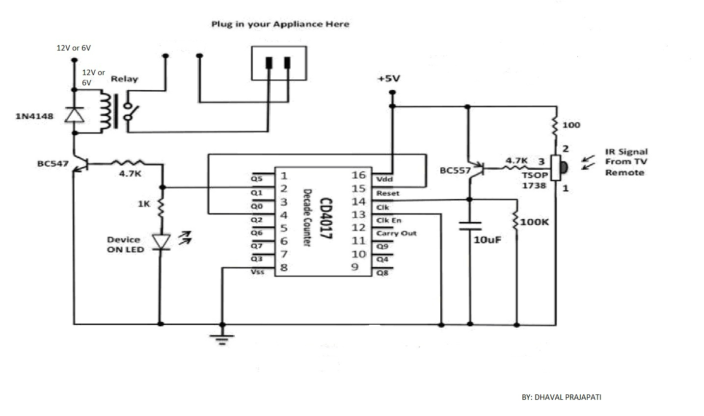 7805 ic pin diagram