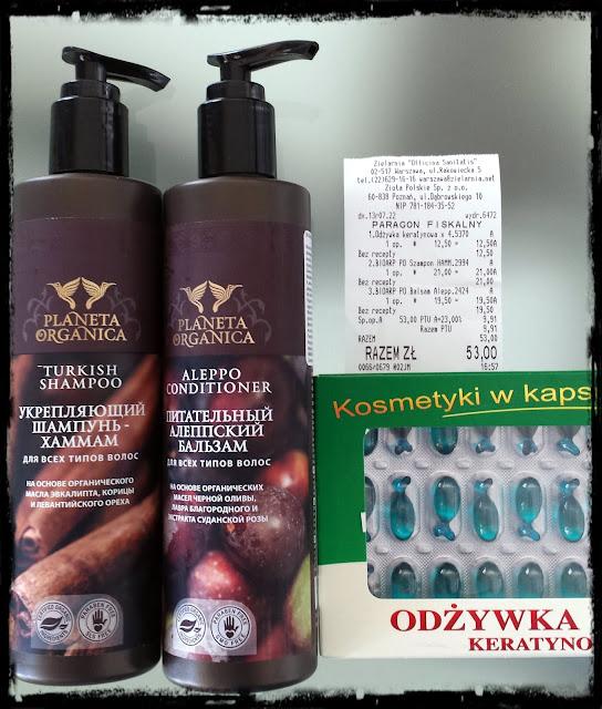Małe zakupy w zielarni Officina Sanitatis - kosmetyki rosyjskie