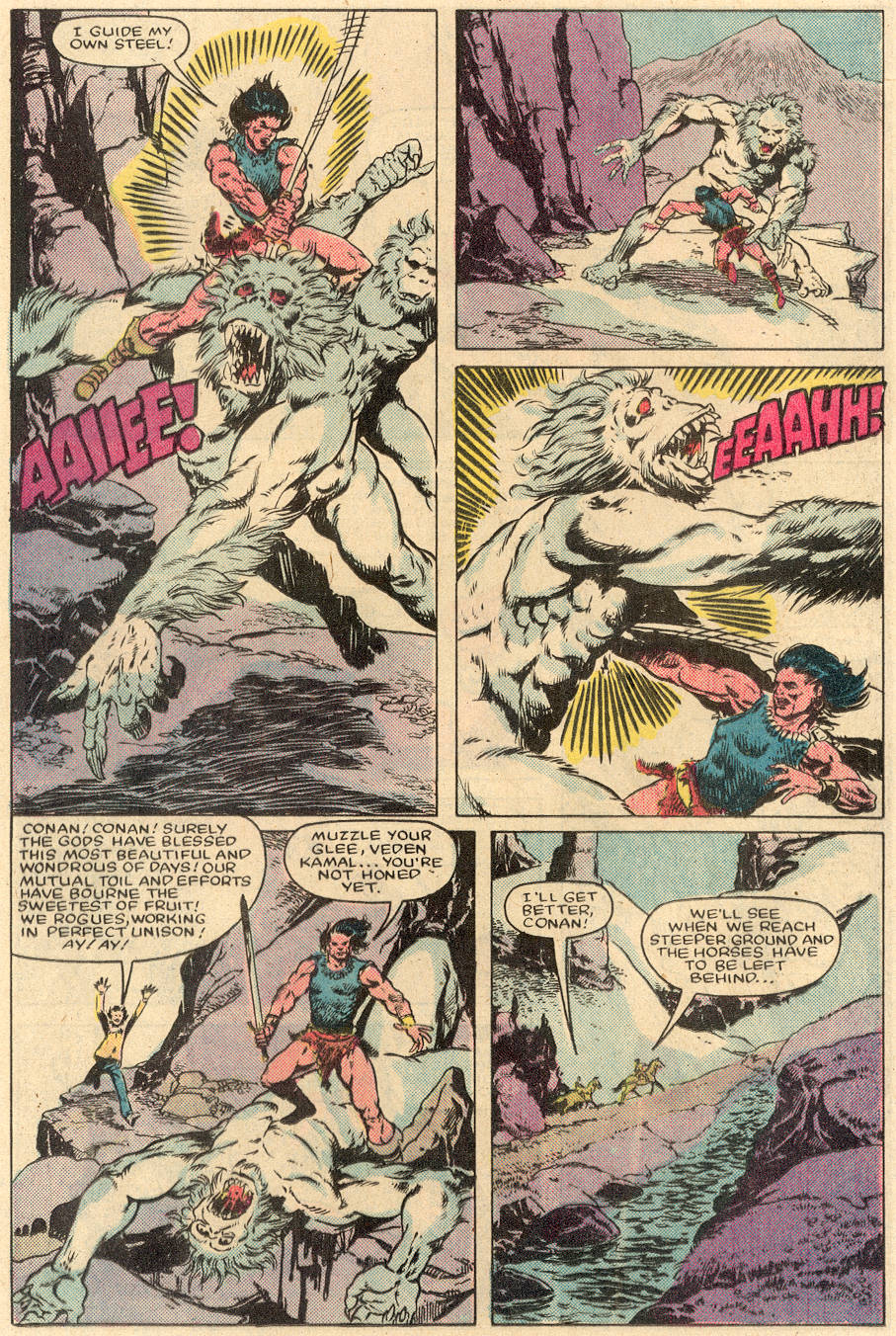 Conan the Barbarian (1970) Issue #164 #176 - English 11