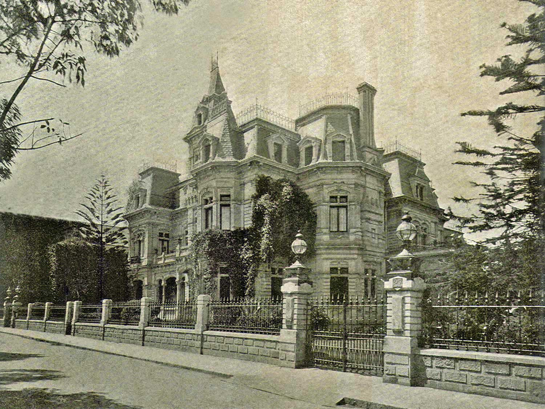 La historia de una de las primeras casas del paseo de la for Creador de casas