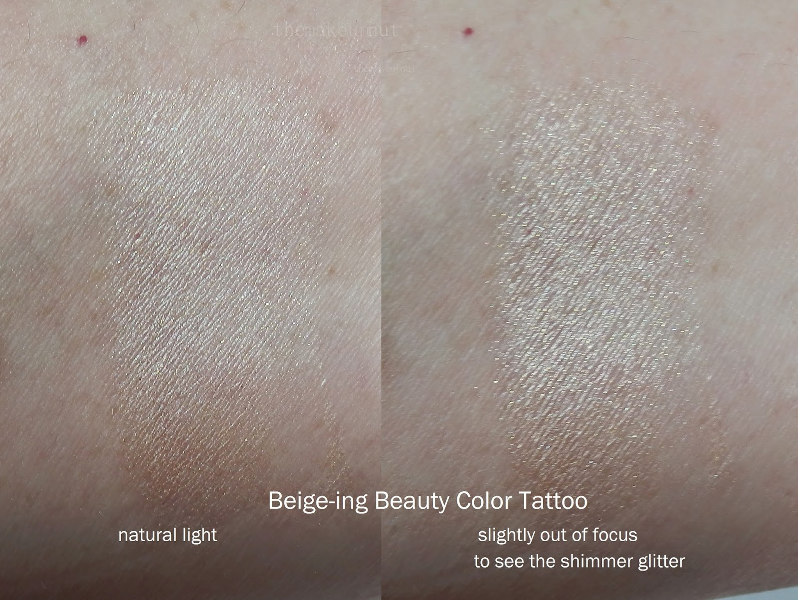 Beige-ing Beauty Color Tattoo