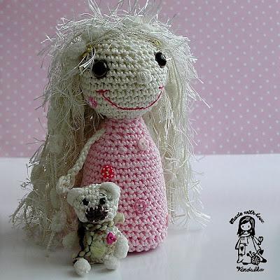 crochet toy, crochet for children, crochet fairy, crochet decoration, crochet doll, vendula maderska design, magic with hook and needles