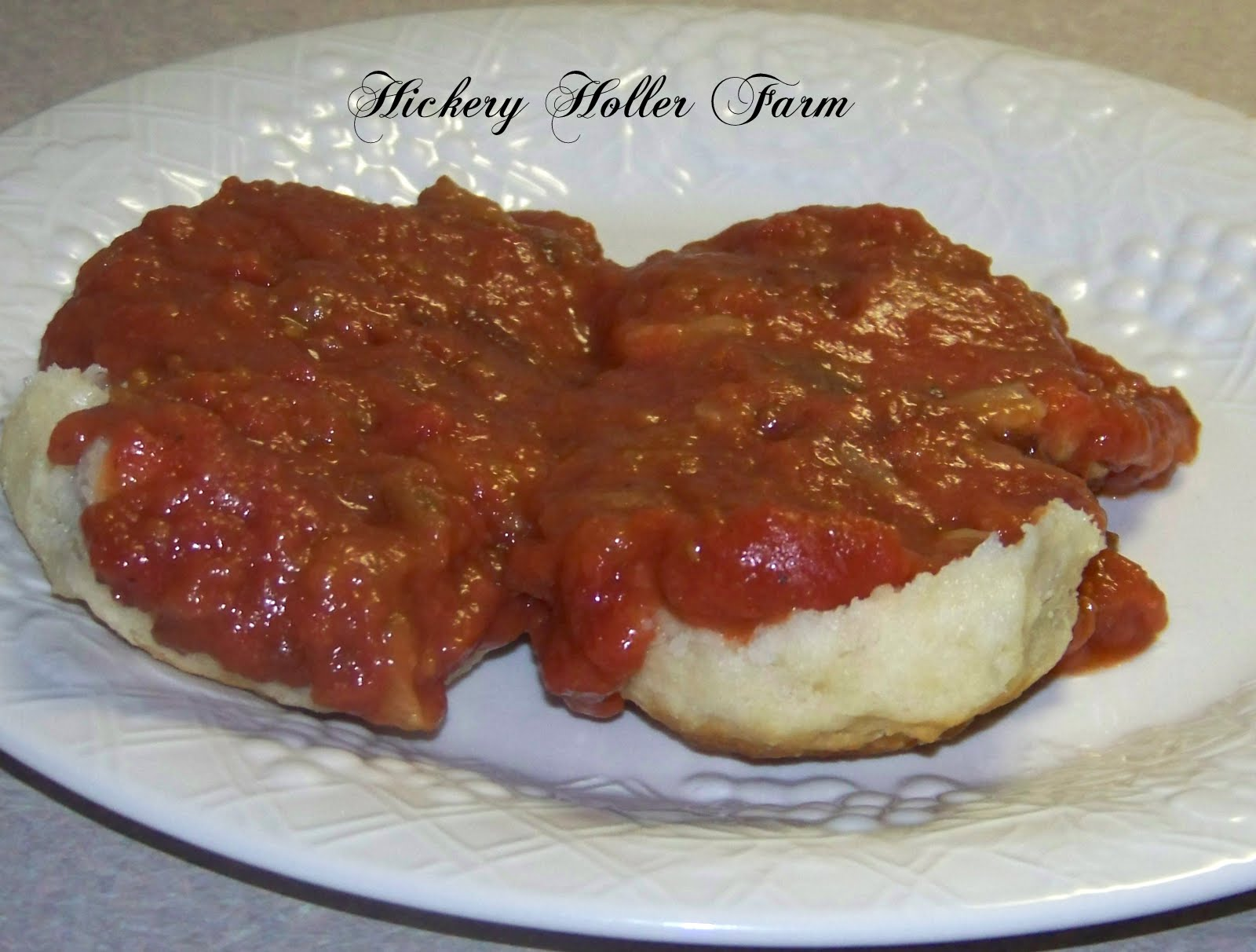Hickery Holler Farm: Daddy's Tomato Gravy