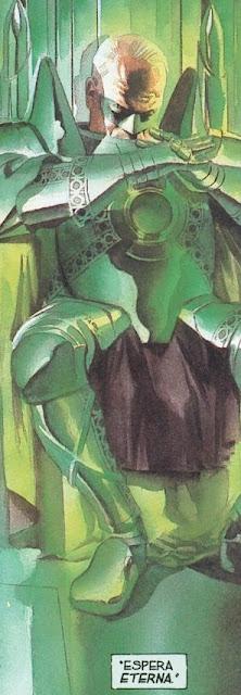 paciente linterna verde