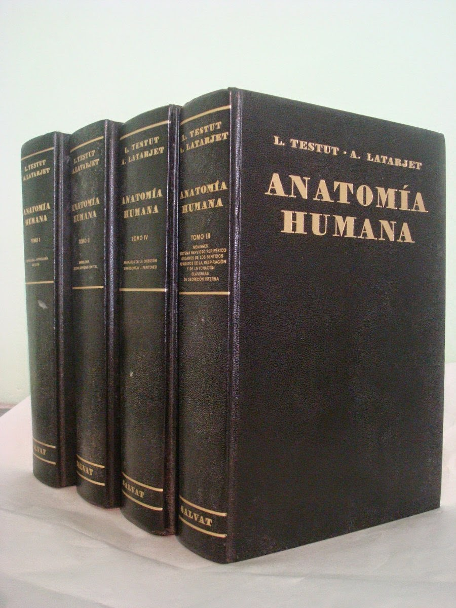 Maldita Anatomia: Testut - Latarjet Anatomía Humana para descargar
