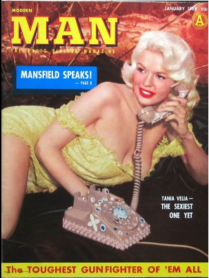 jayne mansfield, blonde bombshell, vintage, 1950s actresses, cutandchic vintage blog