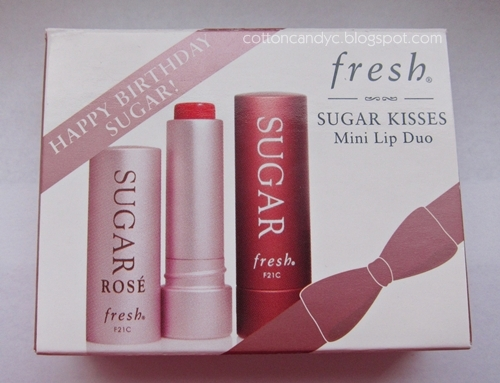 Sephora Beauty Insider Birthday Gift 2012 Fresh Sugar Kisses Mini Lip Duo