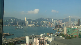 香港出張 シルクフラワー