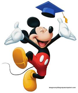 Mickey graduado para imprimir