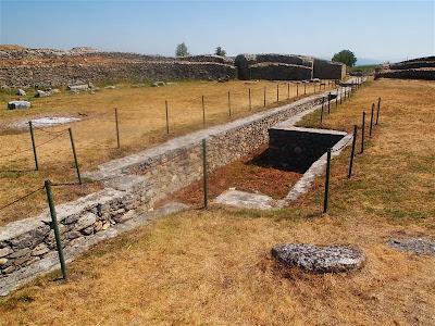 Ruinas romanas de Sarmizegetusa Ulpia Traiana