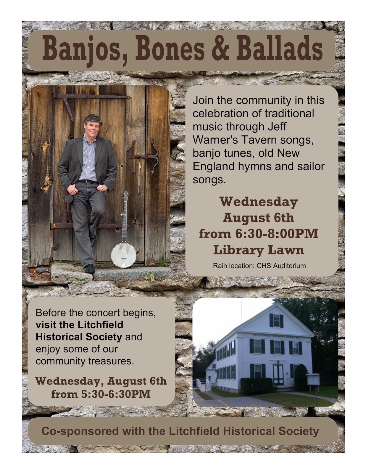 Jeff Warner in Concert August 6, 2014