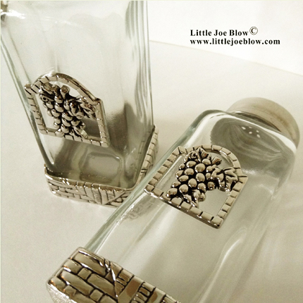 Grapes Salt and Pepper Shakers sold by Little Joe Blow Ind.