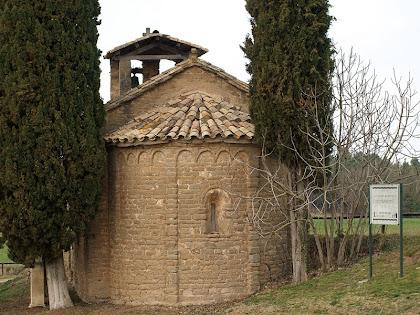 L'absis de Sant Jaume de Fonollet