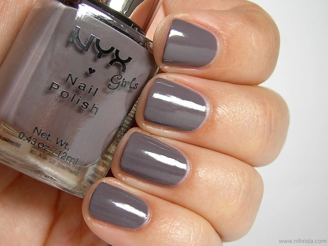 NYX Girls Nail Polish in The Taupe
