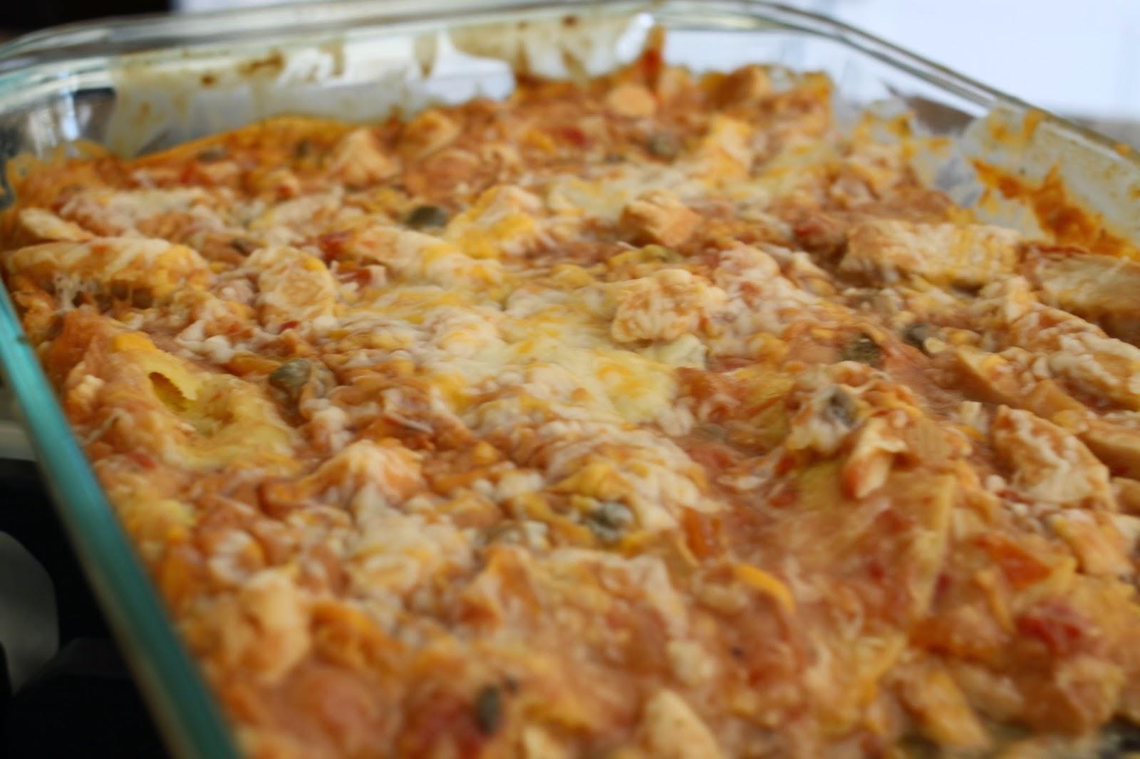 The Larson Lingo: Chicken Tortilla Casserole