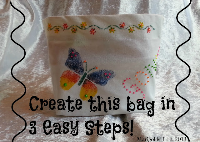 Blopen bag DIY craft tutorial