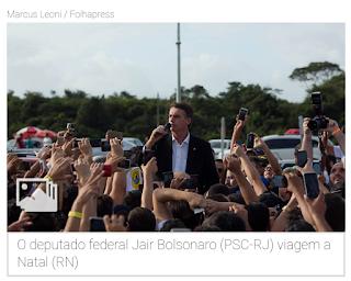 Bolsonaro arrebata direita jovem e nordestina com ideologia 'pá, pá, pá'