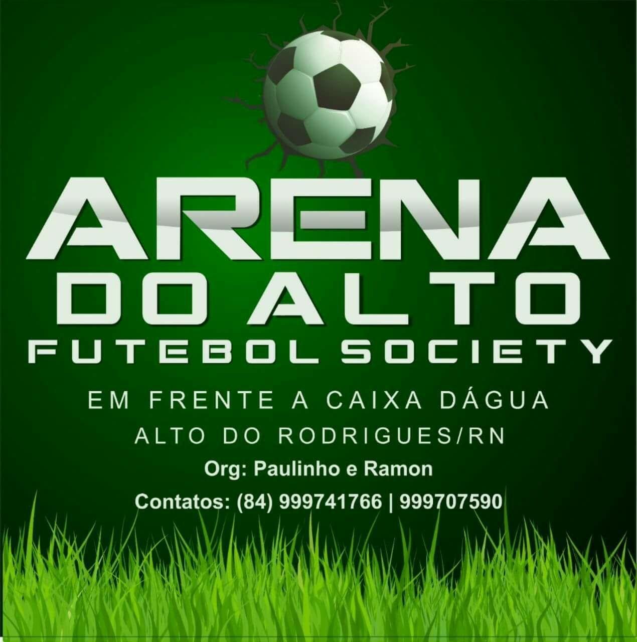 Futebol Society só é legal na ARENA DO ALTO!