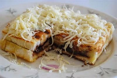 resep roti bakar pisang, resep roti bakar enak, roti bakar pisang coklat, keju, bandung, unik, praktis dan cara membuat roti bakar